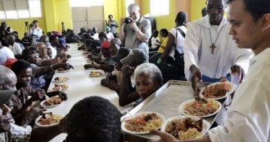 "Catholic Priest Writes New York Times…""We also risk our lives for starving street children. My friends have been blown to bits…1000s help the poor and needy but we only hear from you obsessively about one who commits an error."""