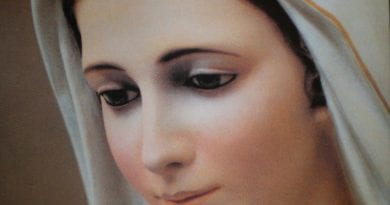 "Medjugorje: ""Prayer to ask for the healing of a sick person, dictated by Our Lady"""