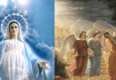 "Medjugorje: Angels are real… Visionary Marija: ""Our Lady often comes with many angels, small and large. When Our Lady is sad the Angels are sad."""