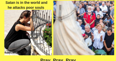 "On Sept 2 Our Lady Warned of a ""Shadows of Darkness and deception"" The Demon was present inside a woman – VIDEO)..On October 2, 2018 Our Lady Returns to Medjugorje"