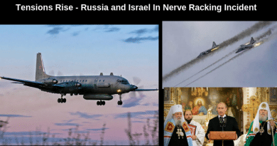 Signs: Putin Warns Israel after Russian Plane shot Down Over Syria