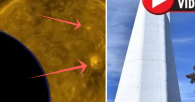 New Mexico Mystery: Solar Observatory shutdown: Huge 'UFO captured on sun feed' before FBI closure