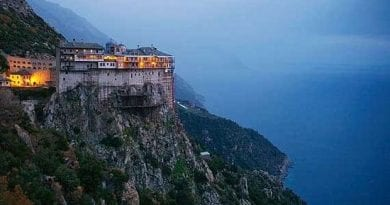 "Scisim…Russian Christians Forbidden to Pray on Mount Athos, Holiest Site in the Orthodox Church…Virgin Mary Discovered Island…In Apparition said ""This mountain I have chosen out of all the earth."""
