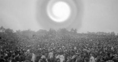 On October 13, 1917, the extraordinary Sun Miracle at Fatima took place.