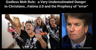 Pink Hats and the Godless Mob that Fills Its Empty Soul with Hate..Fatima 2.o  BEWARE