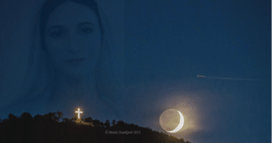 "Video: The Virgin Mary appears on hillside in Medjugorje  (Seven minutes into video)  ""Medjugorje will soon be the most important Marian site on planet earth."""