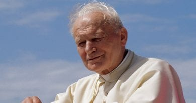 """Happy Birthday to Saint John Paul II …And don't forget the powerful words the Great Saint said about Medjugorje:  'It is the hope for the whole world """""""