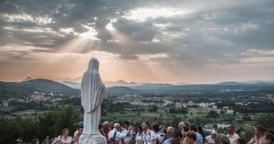 "Vatican Envoy ""The Medjugorje message is for the whole world."" Compares Holy village to Lourdes and Fatima"