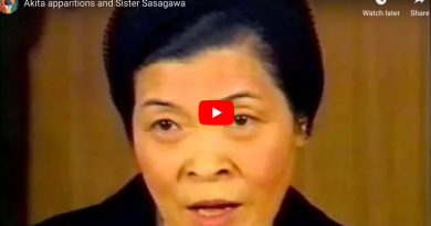 "Powerful Video full of Miracles – Our Lady of Akita: Sr. Sasagawa sees ""Angels worshipping the Holy Eucharist""…Angel Mysteriously Teaches Visionary the Fatima Prayer to be recited after each decade during the Rosary"