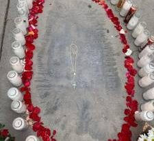 On Feast Day of Our Lady of Guadalupe – Image of the Virgin Mary Mysteriously Appears on Sidewalk