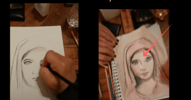 Claim: This is Beautiful – Miracle Happens When He Starts Drawing Virgin Mary