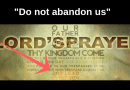 "The Lords Prayer to Change…""Do not us abandon us to temptation"""