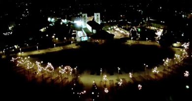 Medjugorje Aerial Christmas -Beautiful