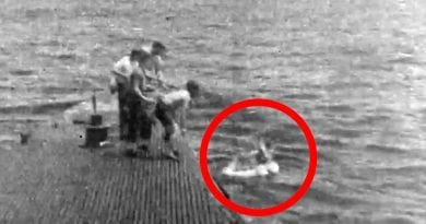 Short Video Rare Film of  WWII Rescue of Pilot George Bush.. In Memoriam: George H.W. Bush