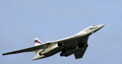 Russian nuclear bombers fly over Caribbean Sea