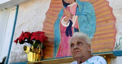 "Sign of the Times:  Lawyers Threaten to Sue if 85 Year Old Grandmother Does Not Take Down Painting of Virgin Mary…""They will have to kill me first!"""