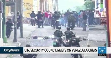 Deeping Crisis – Pope Fears Bloodbath in Venezuela