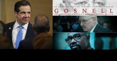 "Gosnell Movie Director: ""On Jan. 22, 2019, almost everything Gosnell and his staff did was legalized by the state of New York…they just legalized every horror he committed."""