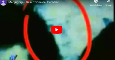Medjugorje: Vicka speaks and the Madonna appears next to her – VIDEO