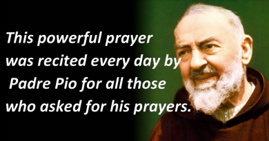 Powerful Secret Weapon Prayer By Padre Pio Has Brought Thousands of Miracles