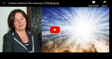 """Medjugorje:  Ivanka – """"The Blessed Mother Invited Me to play with Angels"""""""