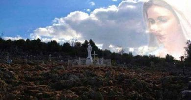 "Medjugorje: A Pearl From Mary November 4, 2019 — ""Do not shut your eyes to the warnings which the Heavenly Father sends to you…He will give you the strength for a new life.""  A Prayer for Healing and Release"