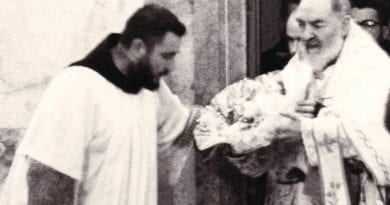 Fr. Mark Goring – St. Padre Pio's first bilocation