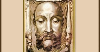 Saint Veronica Wipes the Face of Jesus ~ The Sixth Station of the Cross