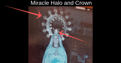 "Miracle Photo From Montana – Mystic Post Reader Says Halo and Crown ""Miraculously"" appeared in photo."