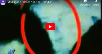 Famous Photo – Medjugorje: Vicka speaks and the Madonna appears next to her – VIDEO