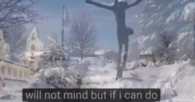 Snow in Medjugorje,  Peace in Medjugorje, and Miracle Photo – Watch Video at 2:00 Minutes