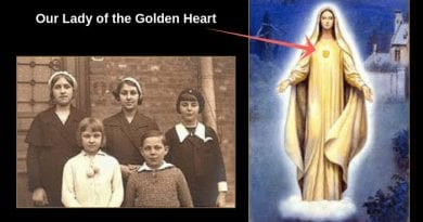 "Marian Apparitions in Beauraing Belgium ""Our Lady with the Golden Heart"" Short Video Narrated by the Incomparable Ricardo Montalbán… Only 3:00 Minutes – Very Powerful"