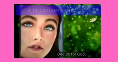 March 25, 2019 Message From Our Lady…Watch Unique Video Animation