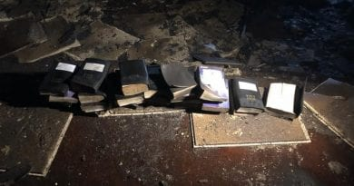 Miracle?  West Virginia firefighters find untouched Bibles in church fire: 'Though odds were against us, God was not'