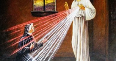 "St. Faustina and the tangible Presence of God – Fr. Mark Goring – A Meditation for this Lent – Simple, Powerful Words. ""May the fire of God's love never go out."""