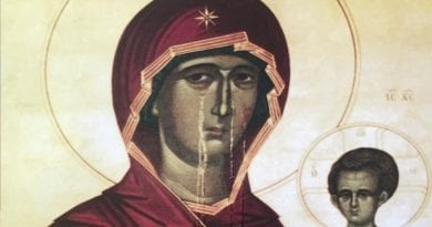 When Icons start crying…Healing Properties – Moscow Institute Investigates