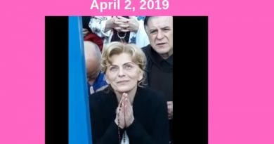 "Stunning Video: April 2, 2019 Apparition – Mirjana with the Virgin Mary. ""This is what you need in today's world."" – The Queen of Peace"