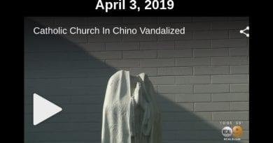 Virgin Mary Statue Beheaded at Catholic Church in California