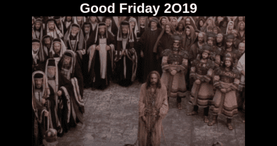 """Passion – Good Friday/Easter Powerful Inspirational Video   """"He chose death so we can have life""""  Watch the intimate moments of Jesus' last hours…"""