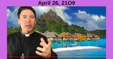 Join me for a drink? What is Heaven like? Fr. Goring explains