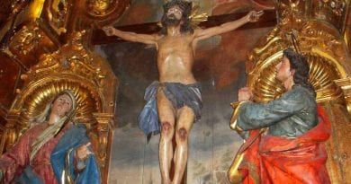 "The Miraculous Cross of Limpias, Spain…""Over 8,000 miracles have been reported"""