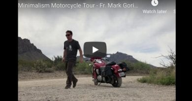 Jesus, Minimalism and a Motorcycle Tour …Father Mark Goring…This is a joy to watch…A special priest bringing souls to the Catholic Church ?? ??✝️?