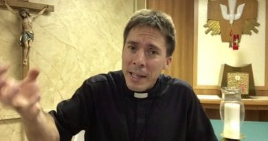 Fr. Mark Goring – demon over patient's bed