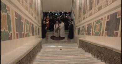 "Vatican displays Holy Stairs for the first time in 300 years…once-in-a-lifetime experience… ""The stairs Jesus walked to be judged by Pontius Pilate before Crucifixion."""