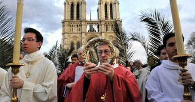 Fire in Notre Dame:  The holy Crown of Thorns worn by Jesus Christ during the passion is saved  praise God!