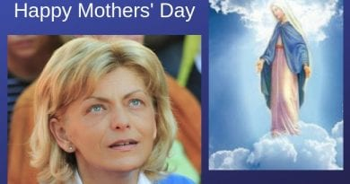 "Mother's Day…Medjugorje – Mirjana:  ""A joy—a light indescribable in human words—will penetrate your soul and the peace and love of my Son will take hold of you"". …but  ""My heart is sad"""