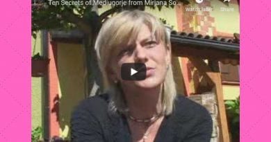 Rare: Ten Secrets of Medjugorje from Mirjana Soldo…Speaks in English. Hear directly from Visionary