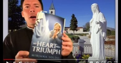 "Fr. Mark Goring on Medjugorje  – ""A wild, wild, amazing story…Tell the Medjugorje story to young people!!!"" Our Lady's heart will triumph!"