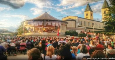 """Medjugorje: Did Video of Young People Singing Ave Maria Open Pope's Heart to Authorize Official Pilgrimages? Papal Envoy Henryk Hoser Joins in Singing in Special Moment. """"Who could invent this but God"""""""