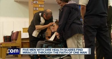 "Report: Catholic Doctor from Cleveland and his ""Miraculous powers of healing""…Five men claim they escaped death's door."